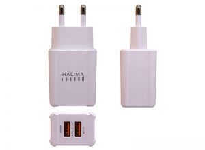HT-32 2 USB 3.1A Fast Charging Adapter with Data Cable