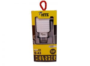 HTE Dual USB Travel Charger